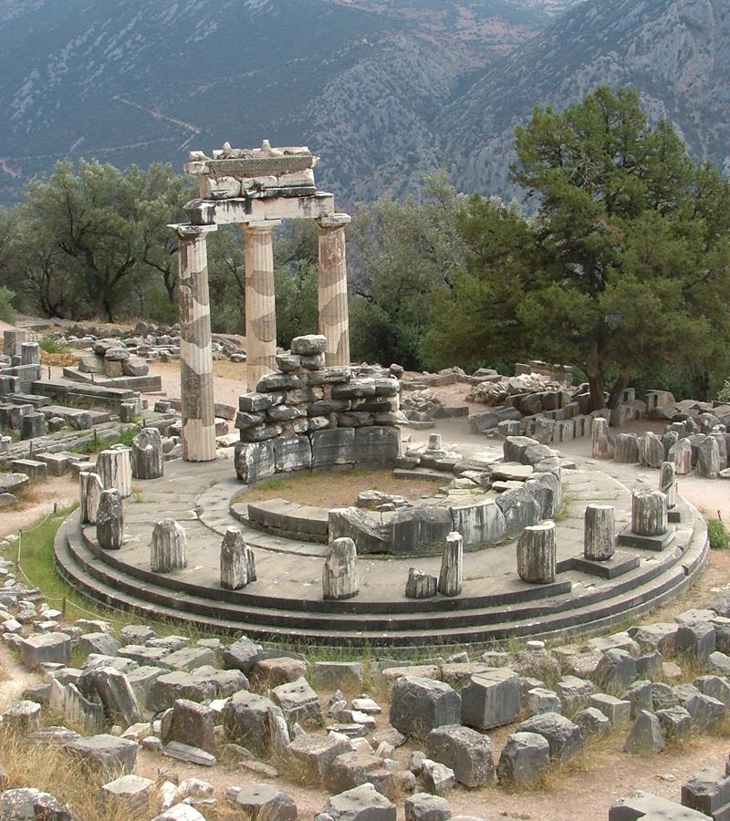 Delphi_Greece_Tholos_Athina_Pronea